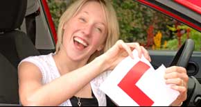 learner driver hull female